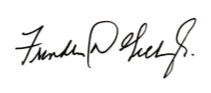 Chancellor Gilliam's Signature